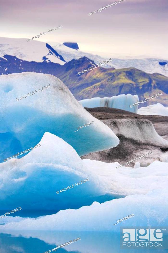 Stock Photo: Jokulsarlon Iceberg Lagoon, Iceland.