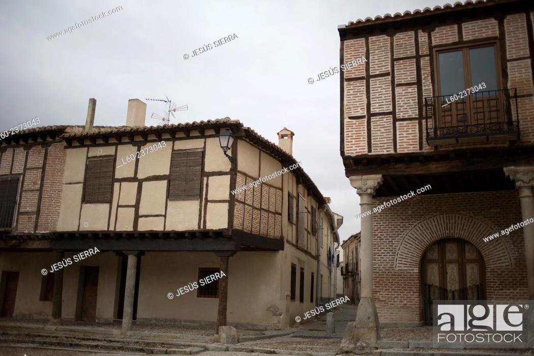Imagen: Old houses in Arévalo, Avila province. Spain.