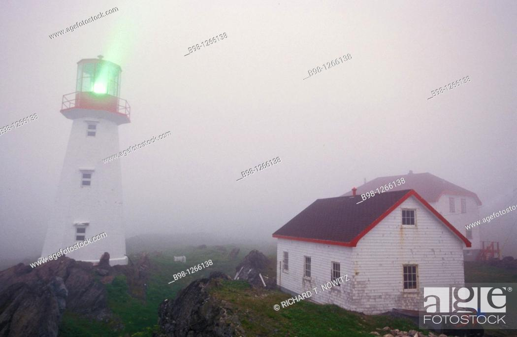 Stock Photo: QUIRPON LIGHTHOUSE INN, Newfoundland.
