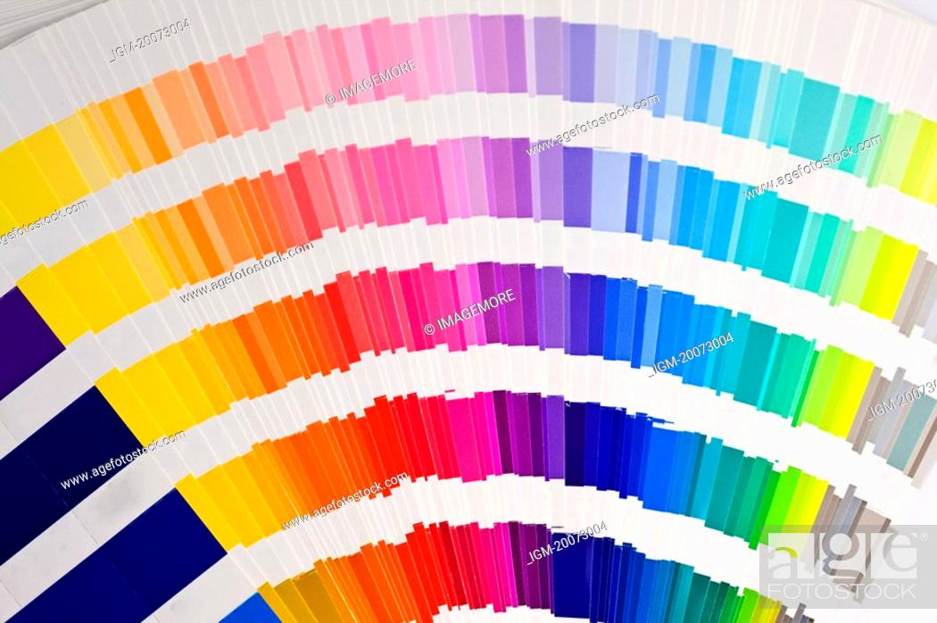 Stock Photo: Color Swatch.