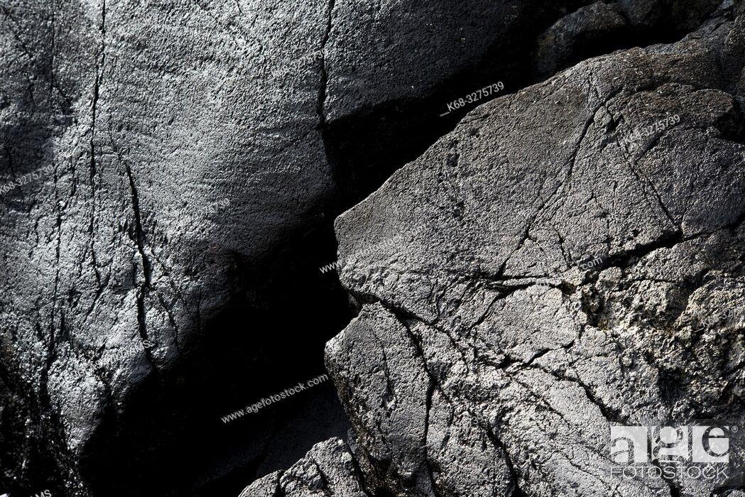 Imagen: Rocks on the shore at East Sooke Park, near Victoria, British Columbia, Canada.
