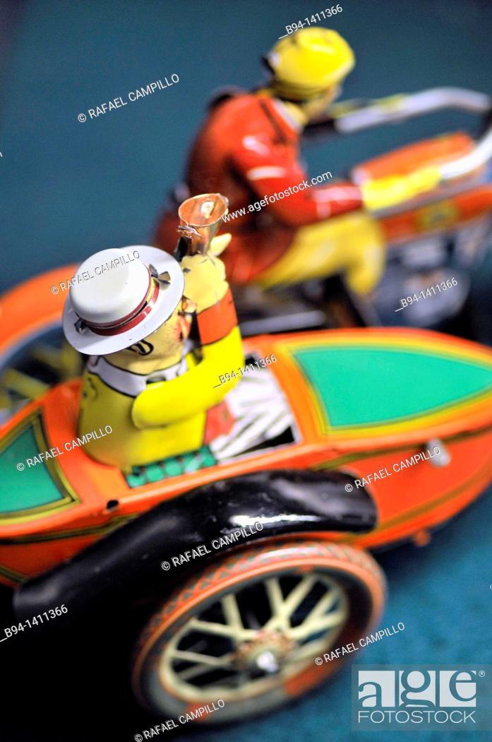 Stock Photo: Windup toy for sale in Vinçon design shop, Barcelona. Catalonia, Spain.