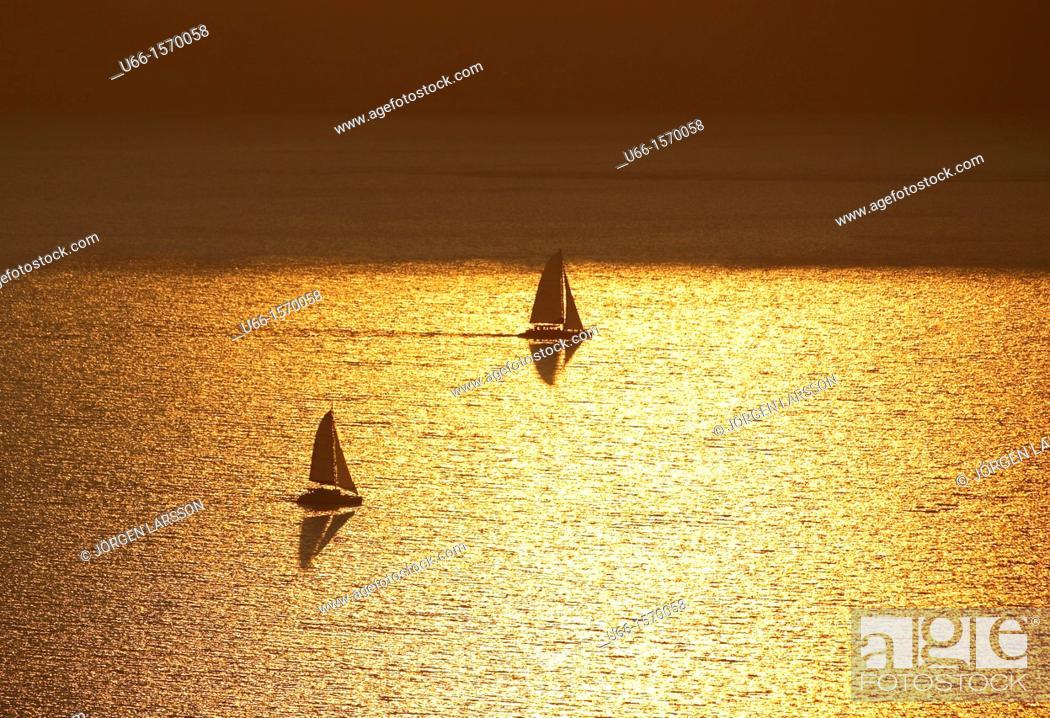 Stock Photo: Santorini Greece.