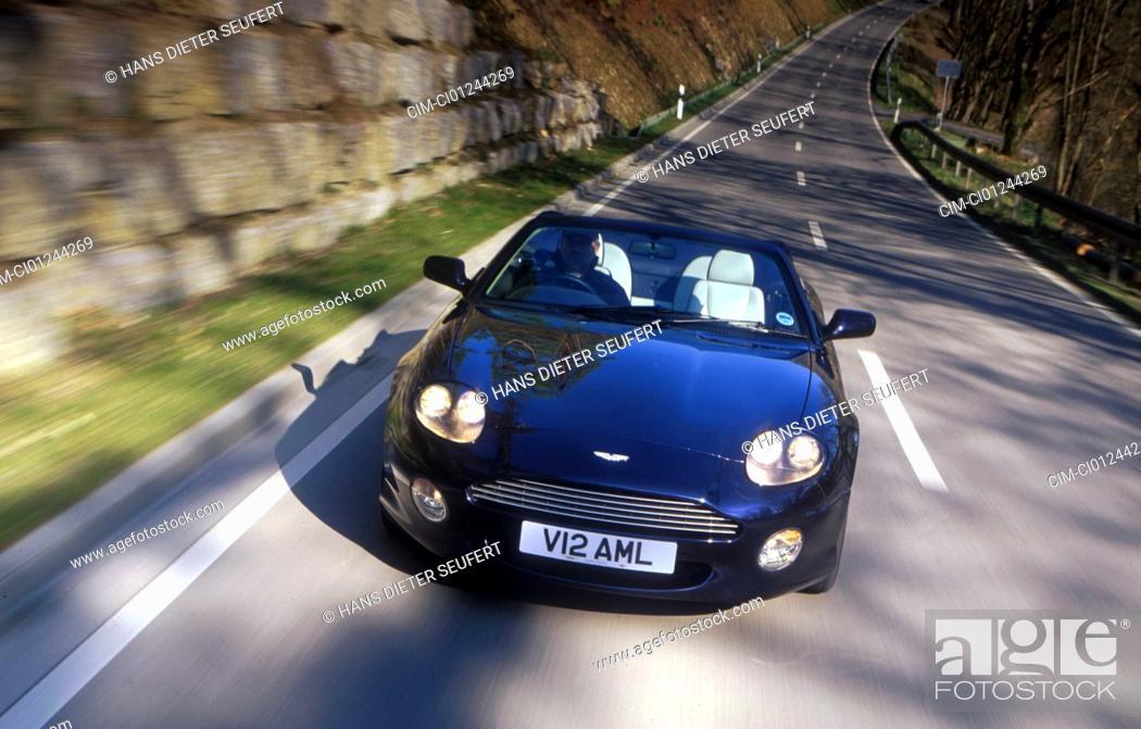 Car Aston Martin Db7 Volante Convertible Model Year 1994 Black