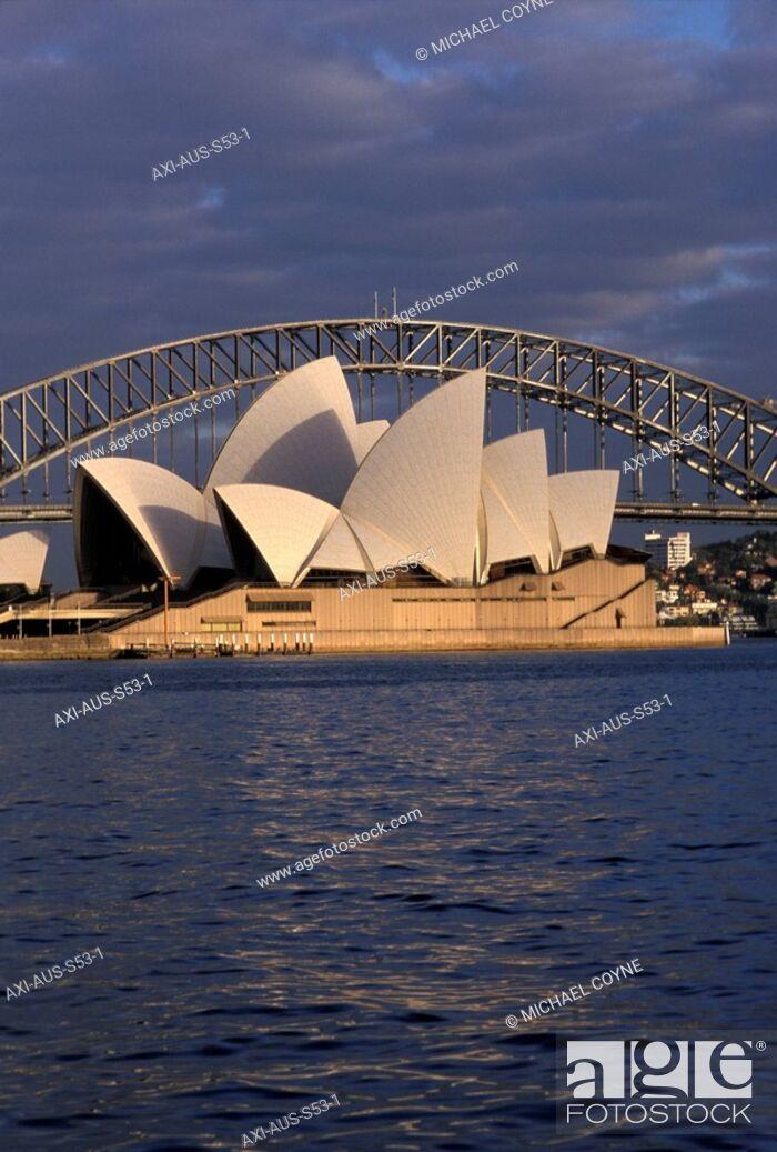 Stock Photo: Sydney Harbour, Australia.