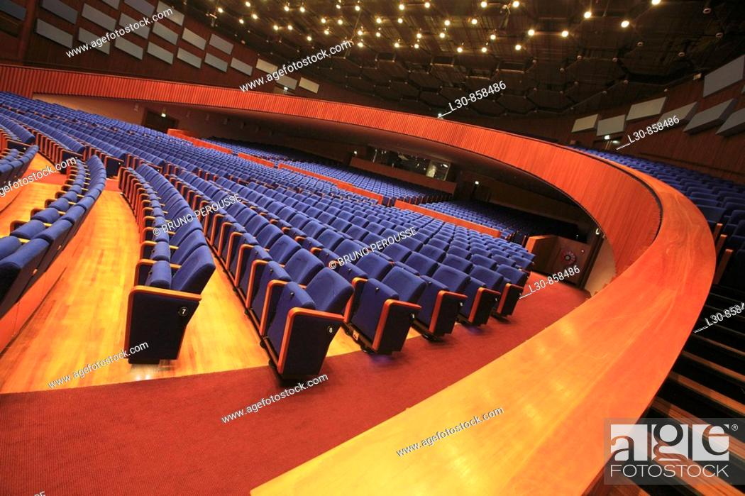 Stock Photo: World Forum convention center, The Hague, The Netherlands.
