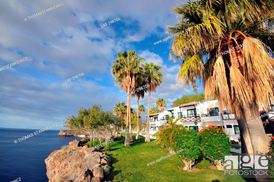 View At Hotel Jardin Tecina On The Waterfront Playa De Santiago