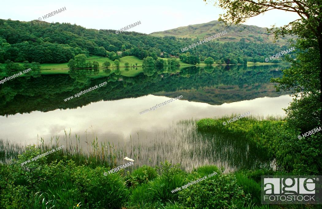 Stock Photo: Grasmere, Lake District, England, United Kingdom.