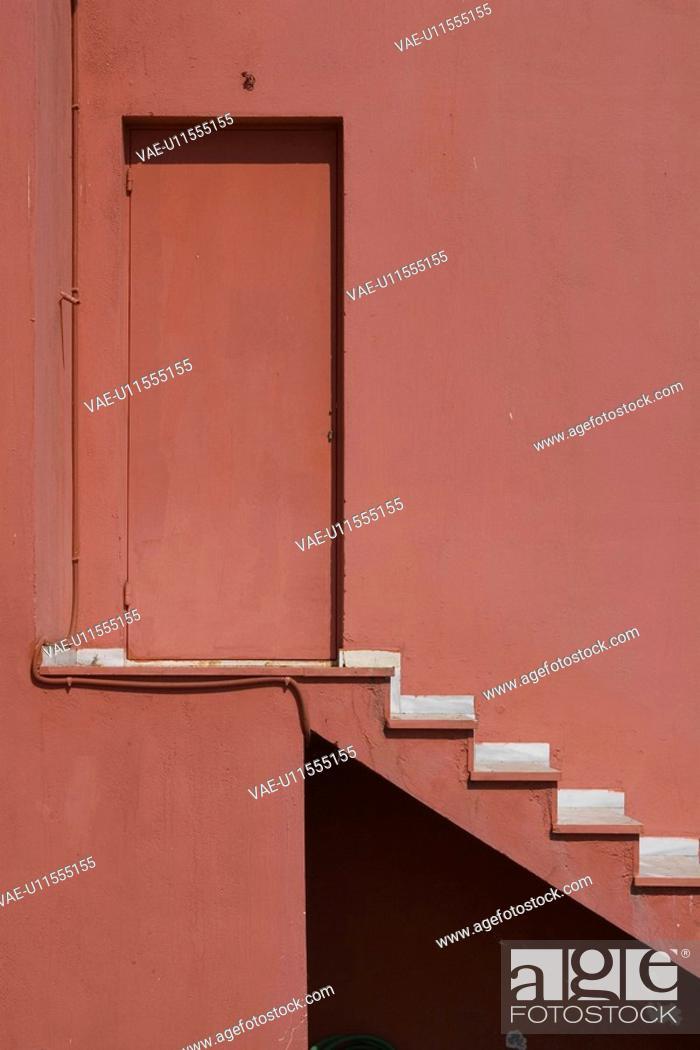 Stock Photo: Building Exterior, Building Structure, Day, Door, Forbidden.