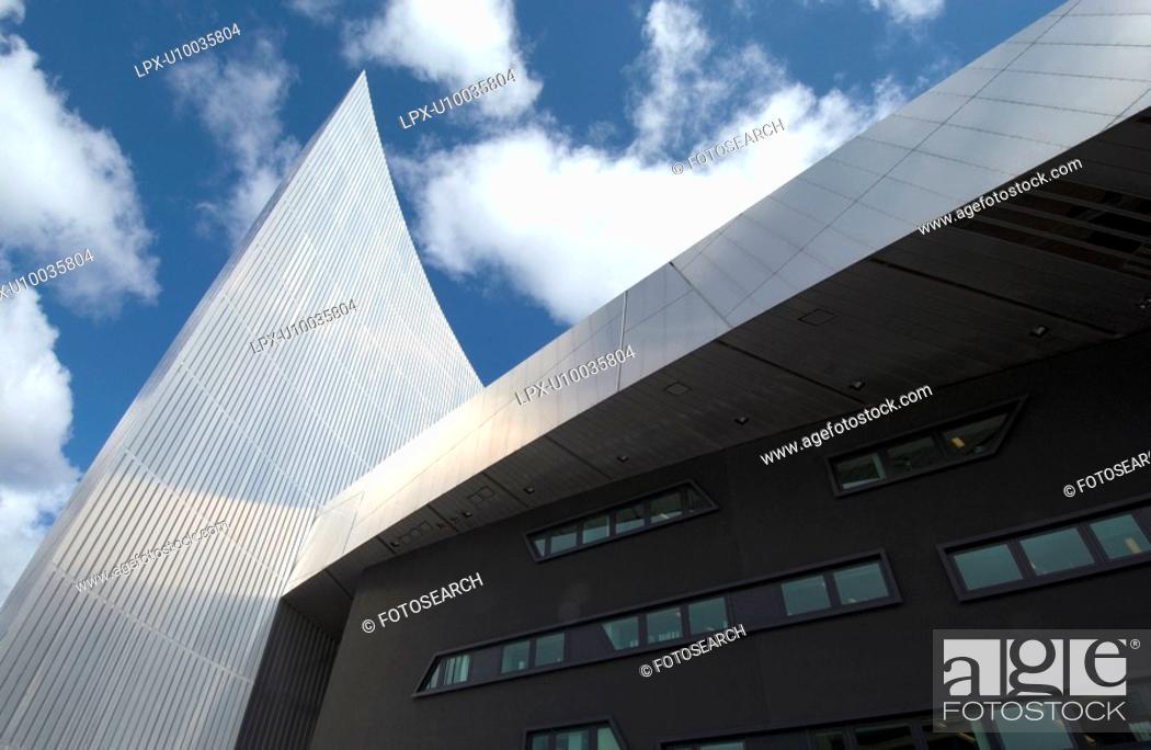 Stock Photo: Museum exterior.