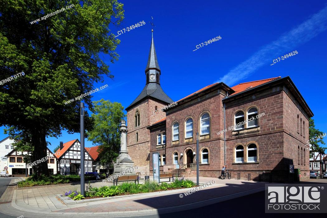Stock Photo: Germany, Blomberg, Lipper Bergland, Lippisches Bergland, Weserbergland, Teutoburg Forest / Egge Hills Nature Park, East Westphalia, Westphalia.