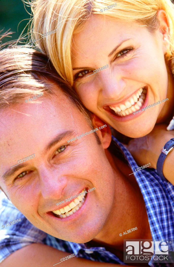 Stock Photo: Couple.