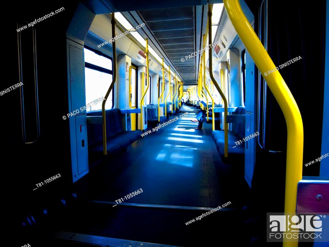 Stock Photo: subway car.