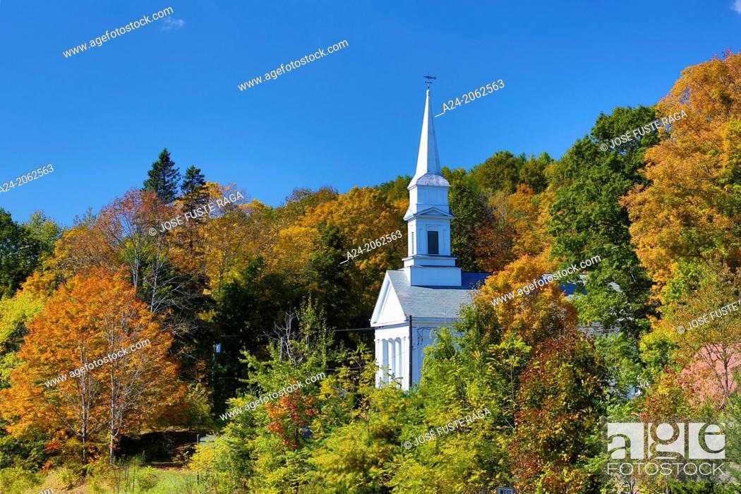 Stock Photo: USA , Massachusetts, Berkshire District, Near Lenox City.