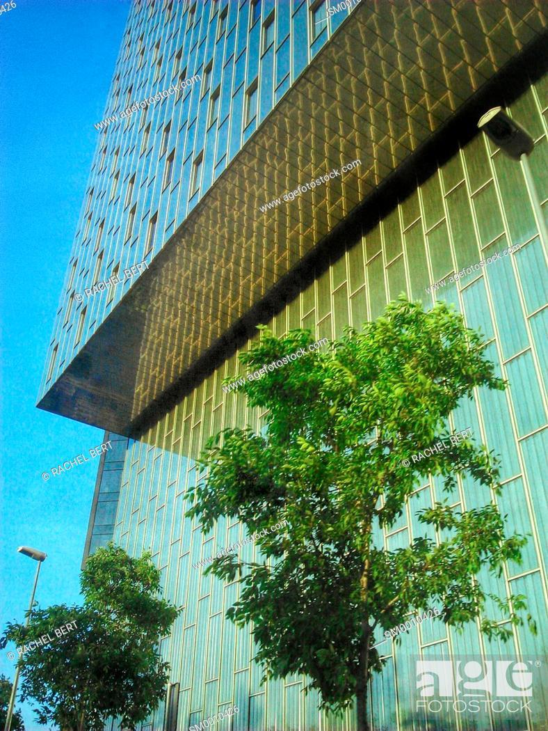 Stock Photo: Urban Scene, Poblenou, Barcelona, Catalonia.