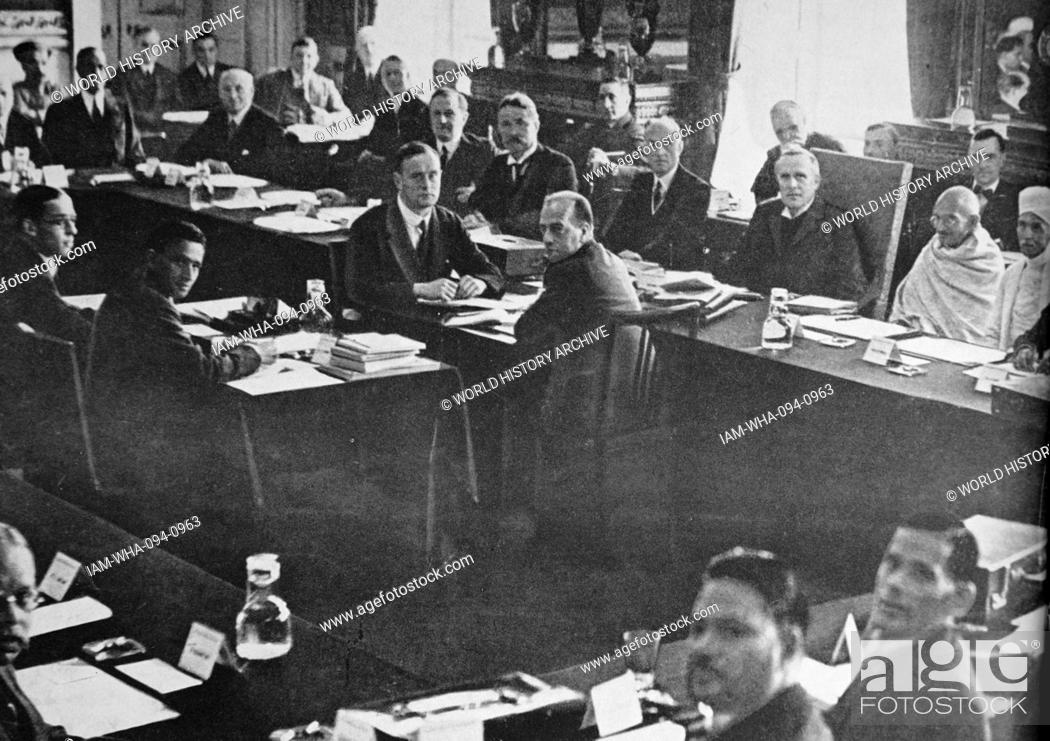 Mahatma Gandhi Attends The Second Round, What Happened In Second Round Table Conference