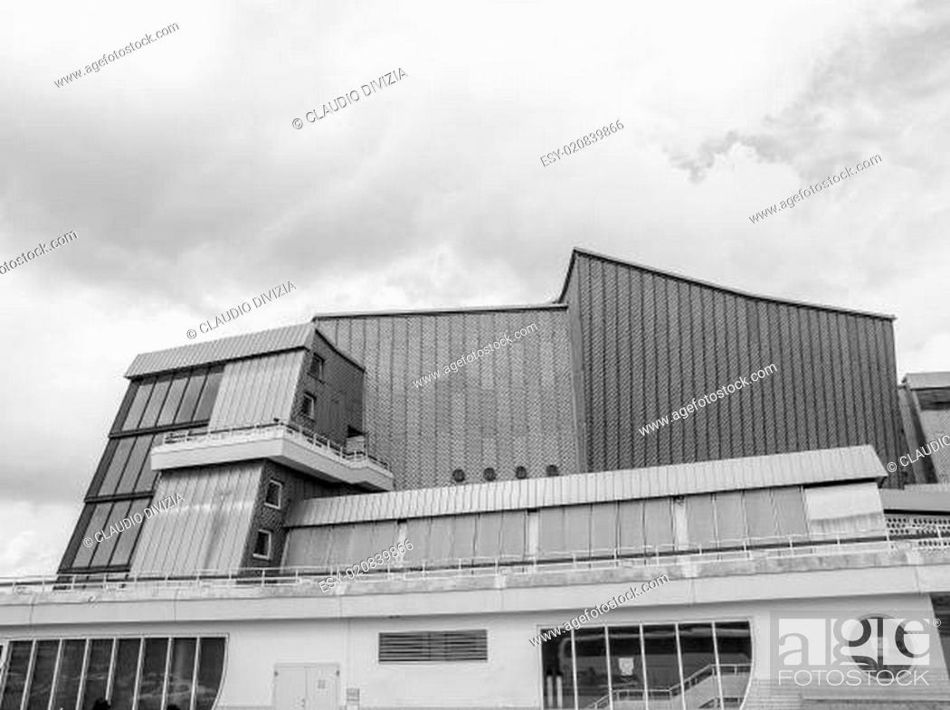Stock Photo: Berliner Philharmonie.