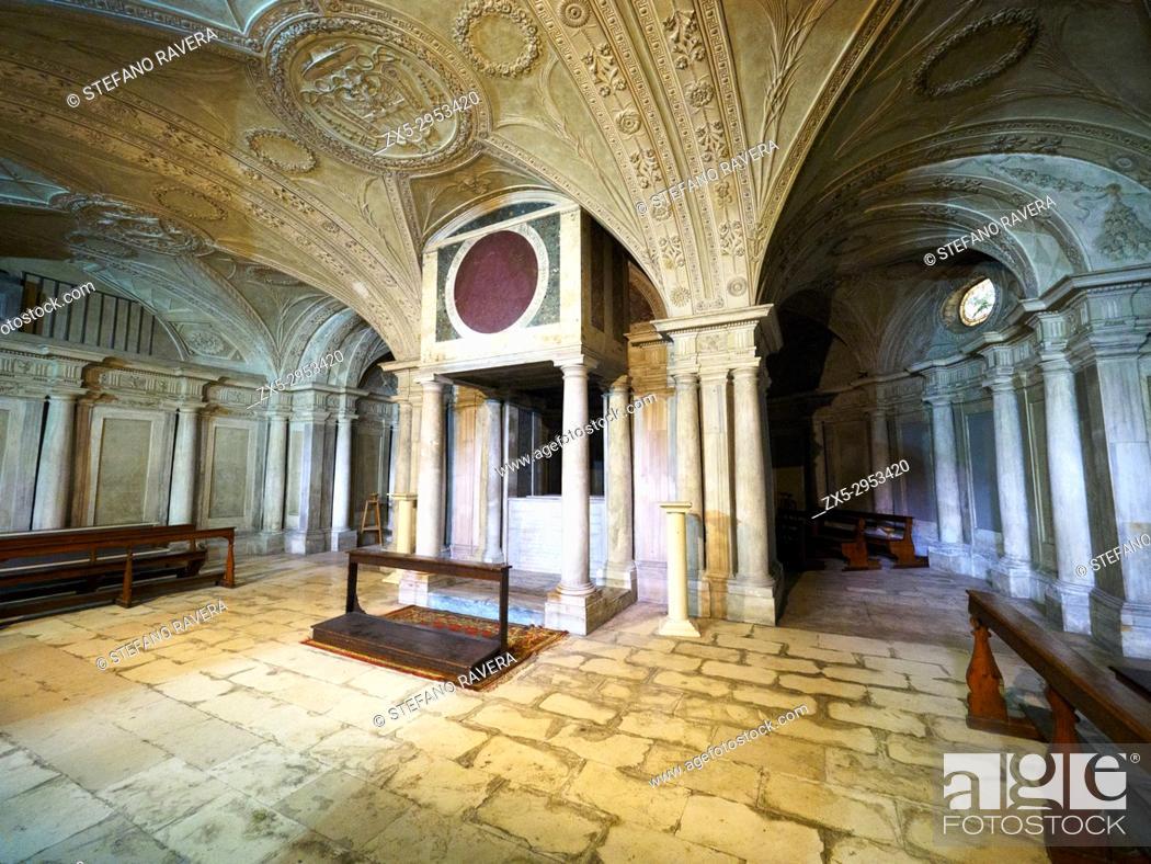 Stock Photo: San Martino ai monti church - Rome, Italy.