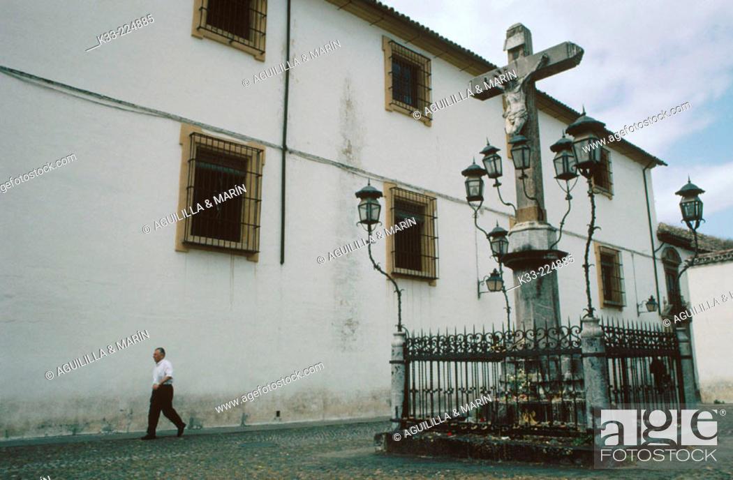 Stock Photo: Cristo de los Faroles'Square in Cordoba. Andalusia. Spain.
