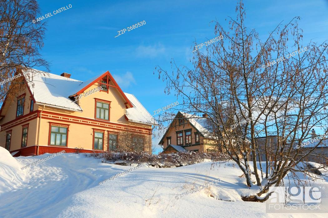 Stock Photo: Harstad is the second-most populated municipality in Troms county, Norway.