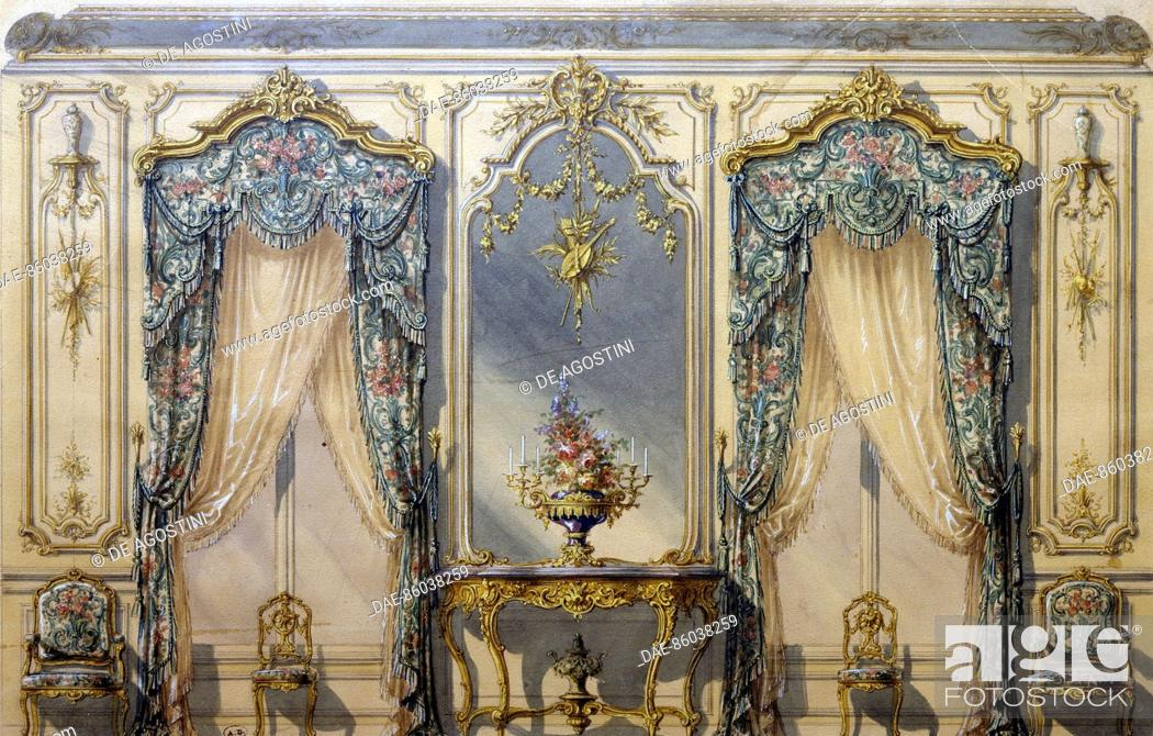 Cool Design Of The Rococo Style Decor For A Living Room 1874 Best Image Libraries Weasiibadanjobscom