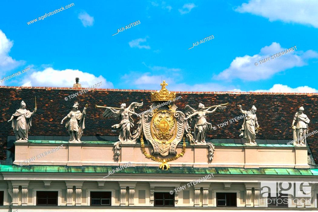 Stock Photo: Austria - Vienna - Hofburg Imperial Palace.