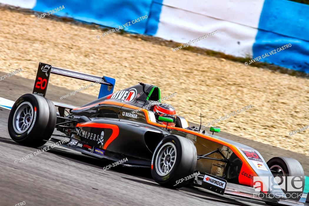 Stock Photo: f4, Free practice, Spanish Championship at Jerez, saturday.