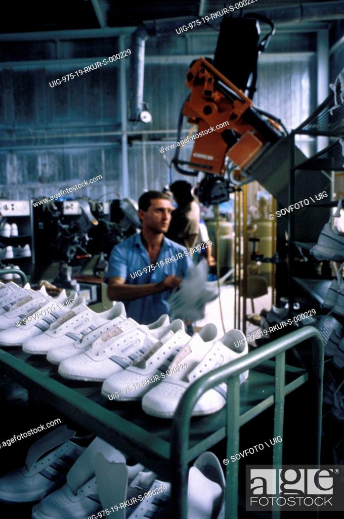 Inside An Adidas Athletic Shoe Factory