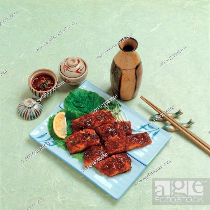 Stock Photo: foreign culture, cuisine, kui, japanese cuisine, japanese food, Japanese Culture, food.