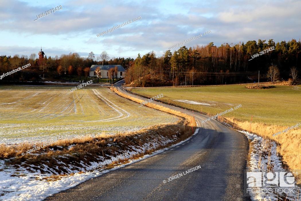 Stock Photo: Morko Sodermanland Sweden.