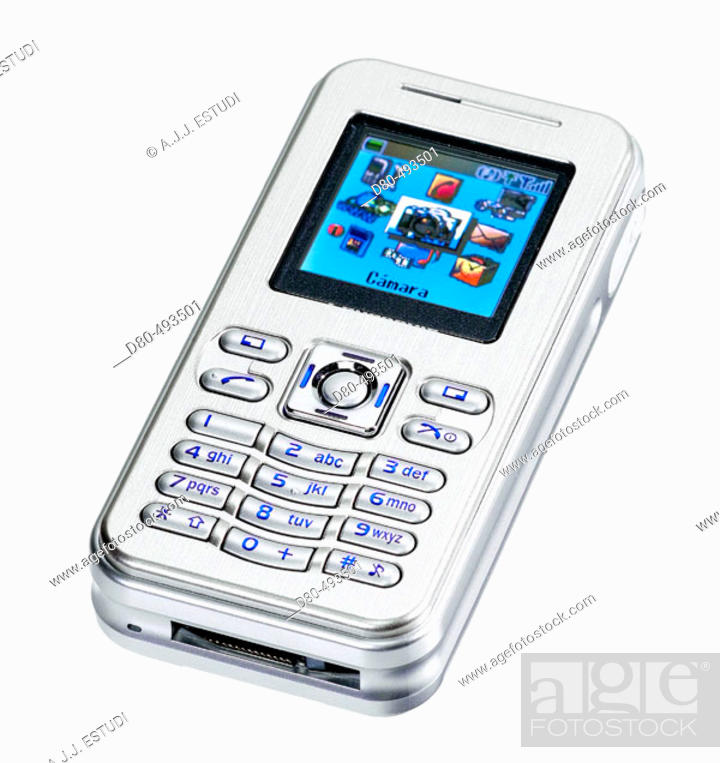 Stock Photo: Cell phone.