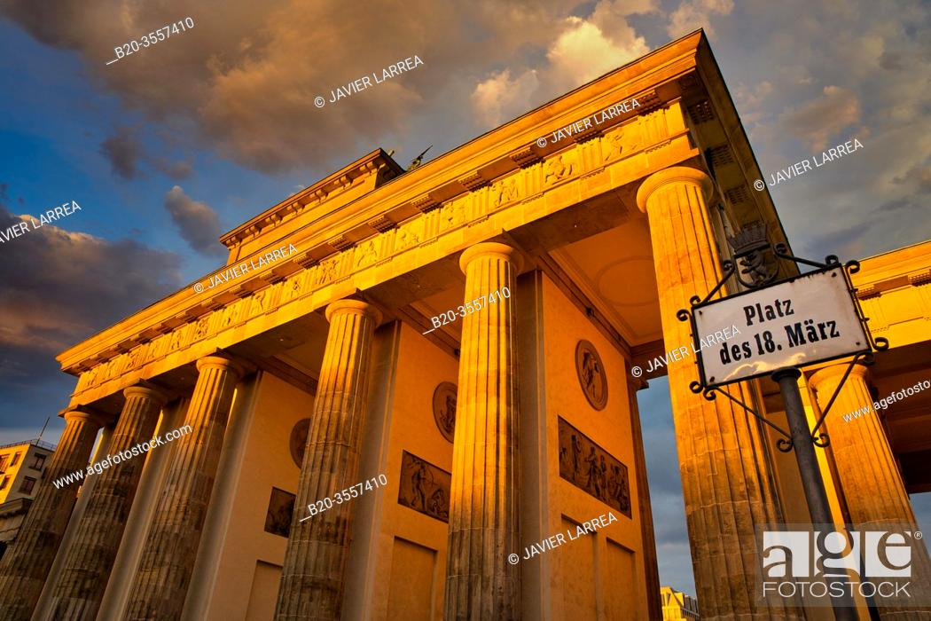 Imagen: Brandenburg Gate, Berlin, Germany.