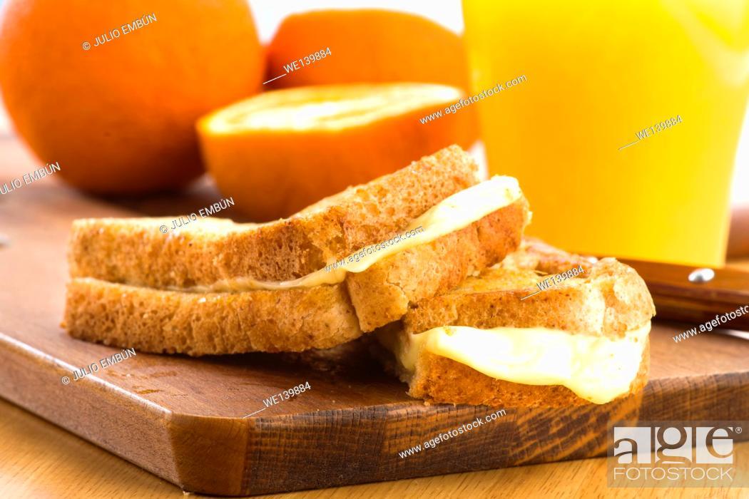 Photo de stock: Sandwich.