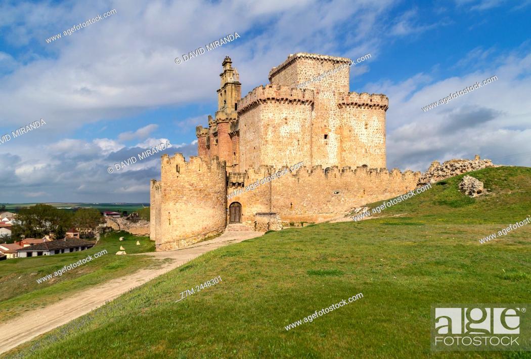 Imagen: Castillo, Turégano. Segovia province. Castile-Leon. Spain.