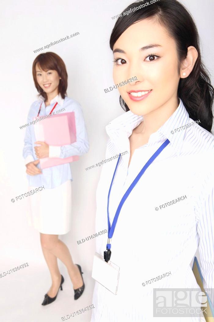 Stock Photo: Portrait of business lady.