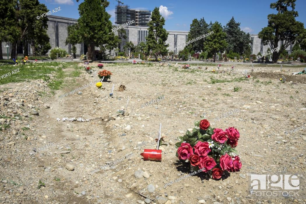 Imagen: Italy, Milan, Musocco cemetery, camp 87.