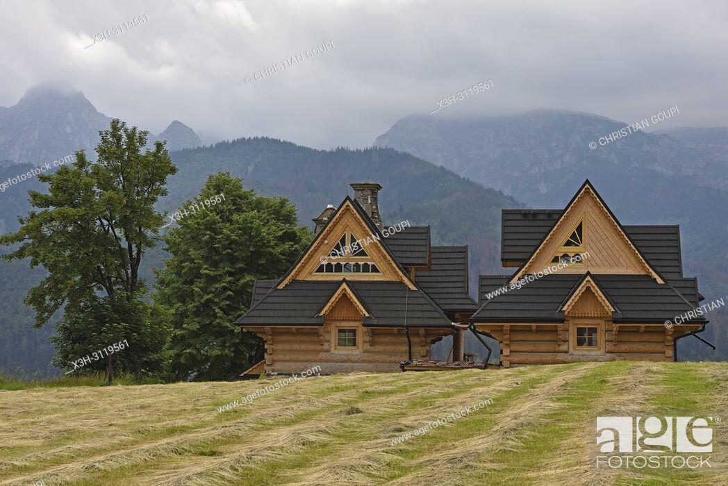 maison moderne en bois a l\'architecture inspiree du style ...