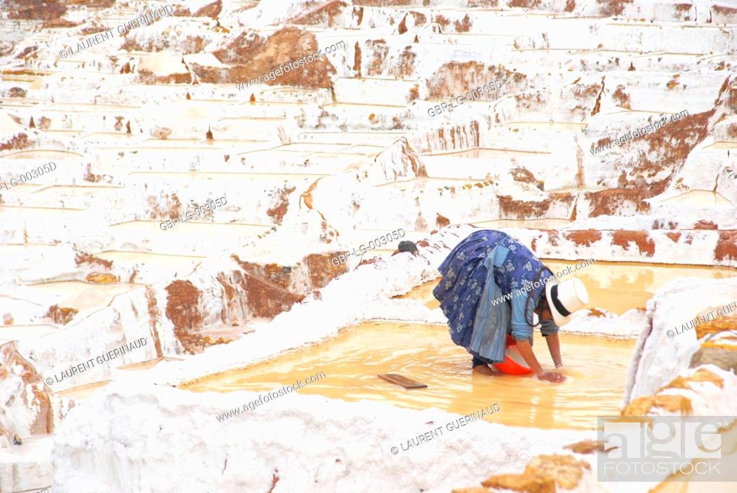 Imagen: Salineras de Maras, Worth Sacred of Los Incas, Region of Cusco, Lima, Peru.