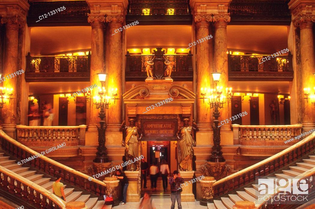 Stock Photo: Paris, Opera.