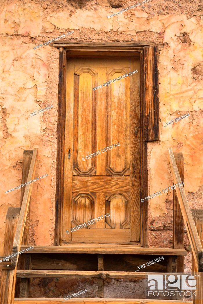 Stock Photo: Hank's Hotel, Calico Ghost Town County Park, California.