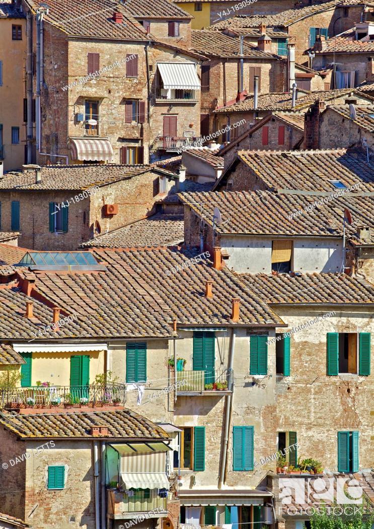 Stock Photo: Hill Town Village of Cortona.