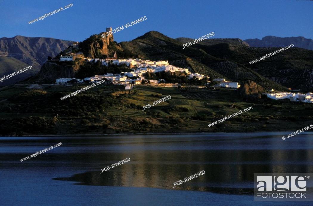 Stock Photo: Zahara de la sierra.