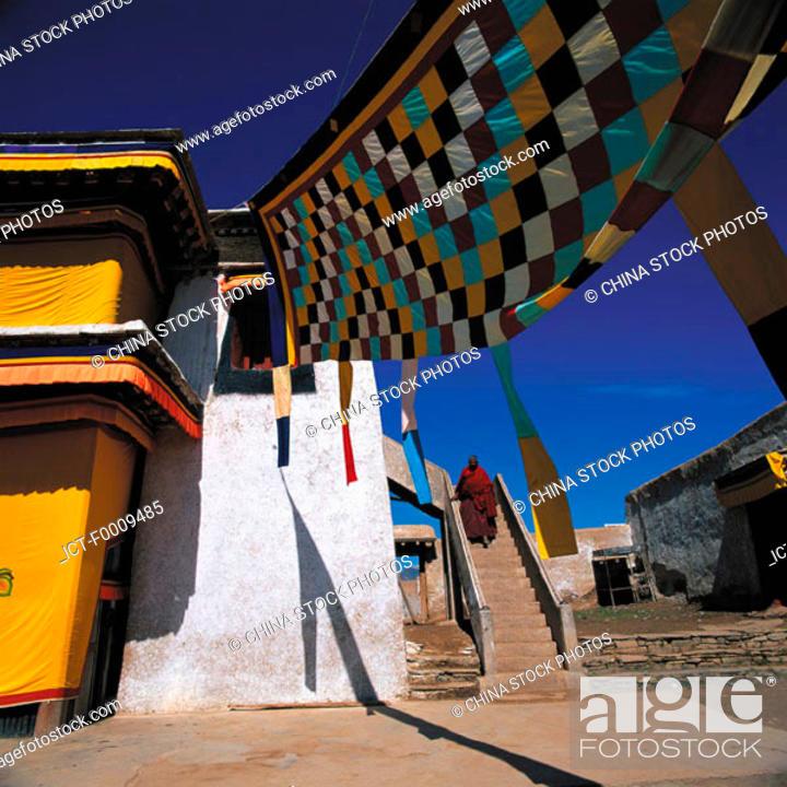 Stock Photo: China, Tibet.