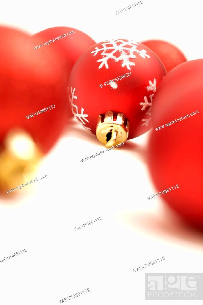Stock Photo: ball, bauble, christmas, Christmas, Christmas tree ball, CLOSE.
