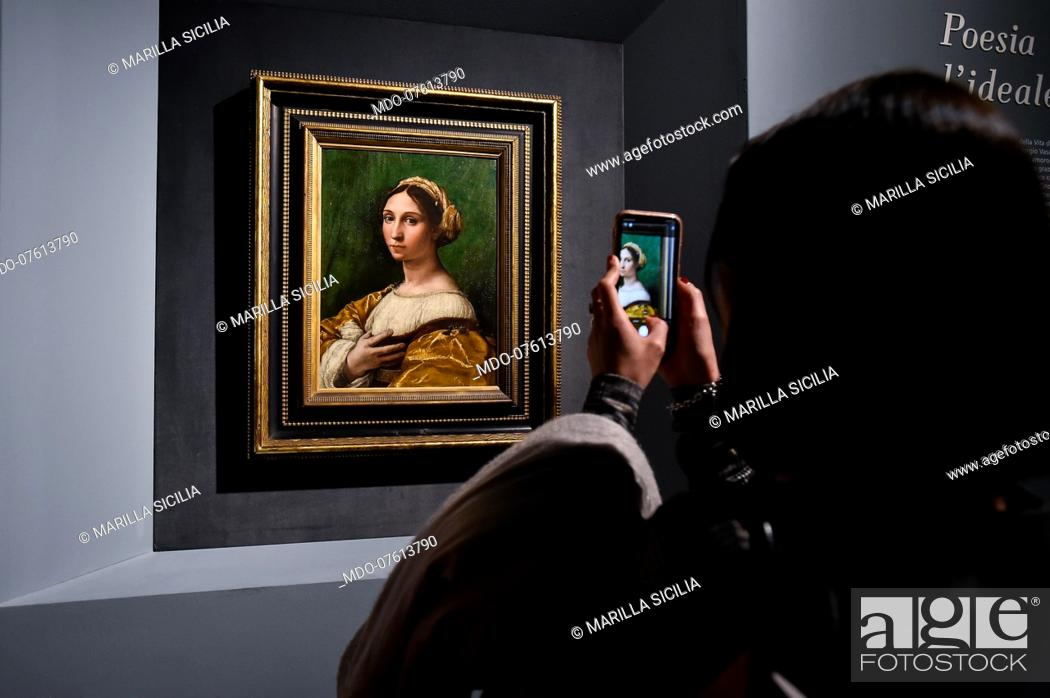 Imagen: The great exhibition Raphael tribute to the five hundred years since his death was inaugurated at the Scuderie del Quirinale.