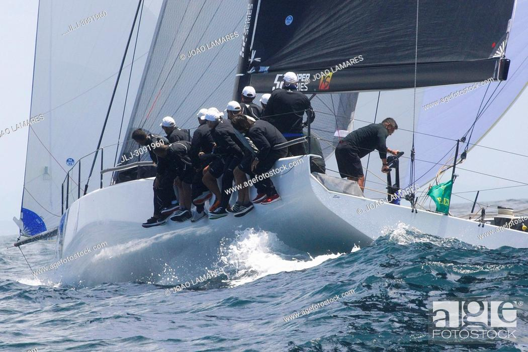 Stock Photo: Sled, #06, Owner: Takashi Okura, Sail nr: USA5095, New York Yacht Club, Builder: Core Builders Composites; Rolex TP 52 World Championship, TP52 Super Serires.