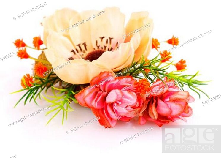 Stock Photo: bouquet of summer flower.