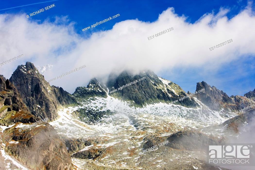 Stock Photo: Vysoke Tatry High Tatras, Slovakia.