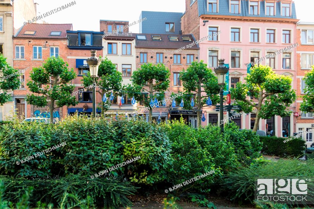 Stock Photo: The City of Brussels, Belgium.