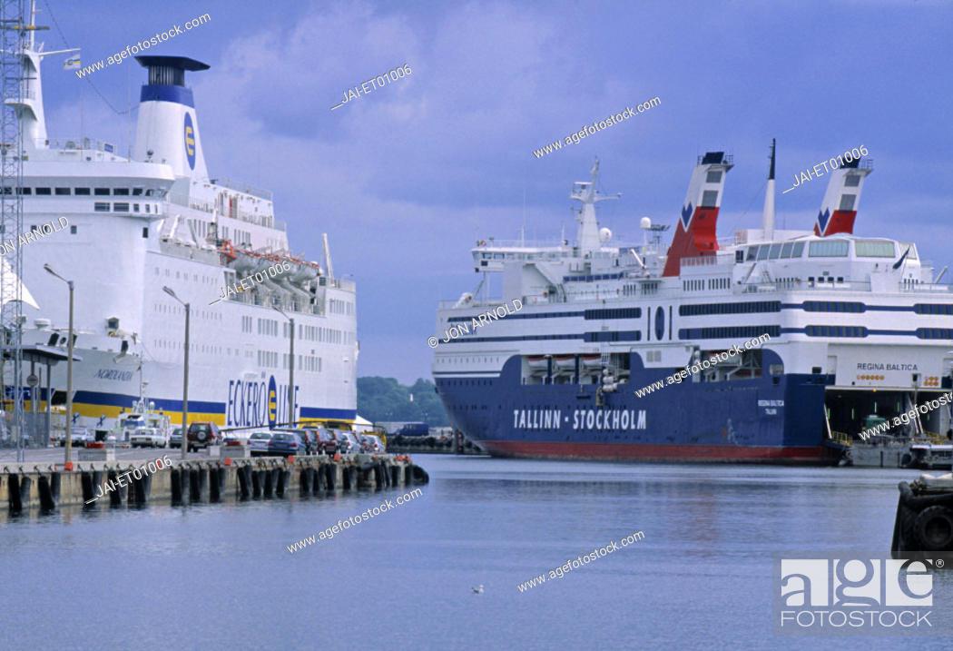 Stock Photo: Port, Tallinn, Estonia.